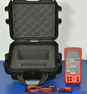 Fluke 725ex Multifunction Process Calibrator Nist Calibrated W Data Warranty