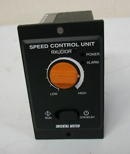 Oriental Motor Axud10a Speed Control Unit 100 115v 50 60hz 0 7a