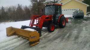 Tractor Backhoe Loader Tiller Grapple Snow Pusher Back Blade York Rake Logspliit