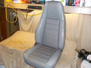 92 95 Jeep Wrangler Yj Passenger Gray Vinyl Reclining Right Front Seat Yj4