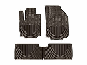 Weathertech All Weather Floor Mats For Gmc Terrain 2018 2019 1st 2nd Row Cocoa