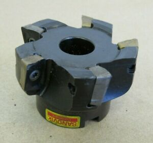 2 5 Sandvik Indexable Face Mill 3 4 Arbor Ra390 063r19 18m