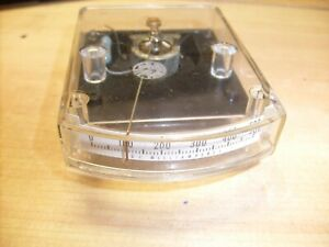 Vintage Simpson 0 500 Dc Milliamperes Edgewise Edge view Panel Meter Ham Radio