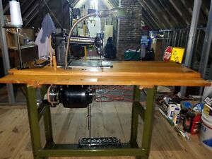 Antique Willcox And Gibbs Sewing High Speed Machine With Table Fully Restored