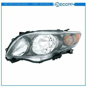 Left 20 6994 90 To2502183 Headlight Lamp For 09 10 Toyota Corolla S xrs Hl