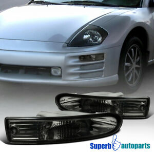 For 2000 2002 Mitsubishi Eclipse Smoke Bumper Lights Parking Signal Left right