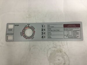 332932 Continental Girbau Continental Control panel Plate Overlay Decal