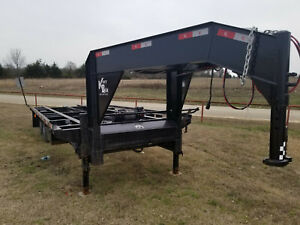Used 2018 Kerrbilt 24 Gooseneck Container Trailer To Haul Empty Containers