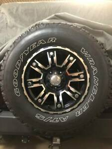 Goodyear Wrangler At S Tires And Wheels For Jeep Wrangler Jk Jl