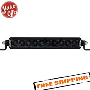 Rigid Industries 910213blk Sr Series Pro Midnight 10 Spot Beam Led Light Bar