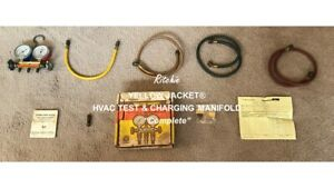 Ritchie Yellow Jacket Hvac Test Charging Manifold