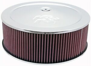 K N Filters 60 1300 Custom Air Cleaner Assembly