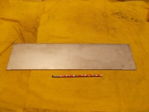 12ga 304 Stainless Steel Sheet Stock Bar Flat Plate 105 X 4 7 8 X 20 1 8