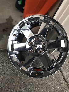 20 Inch Dodge Ram 1500 2009 2012 Wheel Rim Chrome Clad Oem Factory Genuine 2365