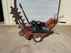 Ditch Witch 1330 Trencher Walk Behind Honda Gx390