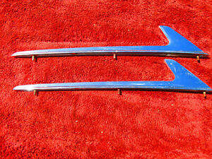 1953 1954 Chevy Bel Air 210 Gm Accessory Front Fender Markers