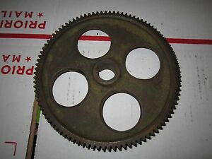 Vintage Metal Lathe Change Gear 98 Tooth 3 4 Bore 3 4 Thick 6 1 8 Dia