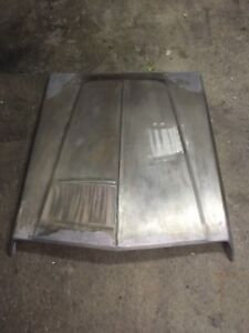 1967 Wo Ro 426 Race Hemi Factory Super Stock Hood Scoop Steel Awesome Condition