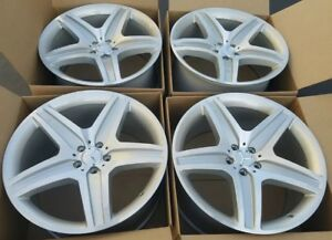 21 Mercedes Gl350 Gl450 Gl550 21 Amg Silver Wheels Factory Oem Rims 85108