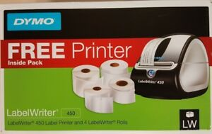 Dymo 1957331 Labelwriter 450 Bundle With 4 Lw Rolls Reduced This Weekend Sale