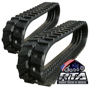 Two Rubber Tracks For Bobcat 325 300x52 5x74 Free Shipping