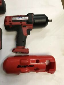Snap On Ct8850 18v 1 2 Drive Cordless Monster Lithium Impact Wrench And Battery