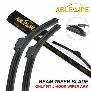 Ablewipe Fit For Honda Accord 2008 2017 Windshield Front Wiper Blades set Of 2