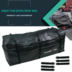 11 5 Cubic Feet Rainproof Waterproof Luggage Tow Trailer Hitch Cargo Carrier Bag