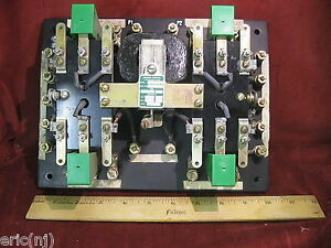 Asco Contactor Transfer Switch Relay 5466 6pdt 120v Coil 25a 600v Contacts