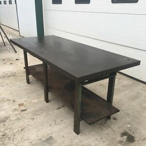 Steel Work Bench Welding Fabrication Layout Table 84 x36