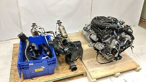 Ford Fomoco 3 7l Cep1 V6 Tivct 2017 Complete Engine Transmission Working Pull