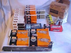 Huge Lot Ace Staples Staplers Staple Removers Office Supplies Desk Supply
