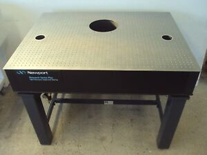 Crated 4 Ft Newport Optical Laser Table Vibraplane Bench Breadboard Lab