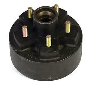 30796 Husky Towing Single 5 Stud Trailer Brake Hub Assembly With Drum 4000lb Cap