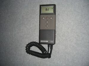 Dickson Ir550 Infrared Temperature Measuring Instrument W Battery Case Manual