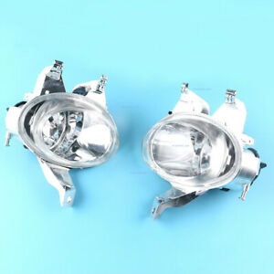 2x Left Right Front Bumper Fog Driving Lights Lamps For 1998 2003 Peugeot 206