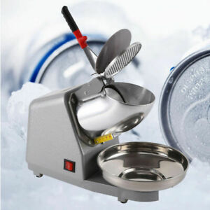 300w Ice Shaver Machine Snow Cone Maker Shaved Icee 143lbs Electric Crusher 2019