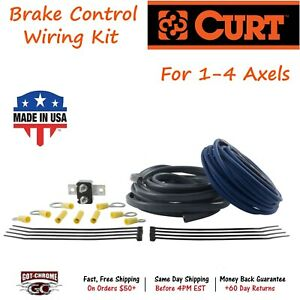 51500 Curt Universal Brake Control Wiring Kit For 1 4 Axels
