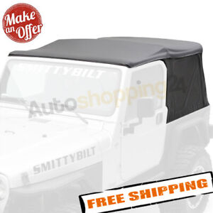 Smittybilt 9971235 Replacement Soft Top W tinted Windows 1997 2006 Wrangler Tj