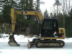 2010 Cat Caterpillar 307d Excavator Coupler Auxiliary Hydraulics Hydraulic Thumb