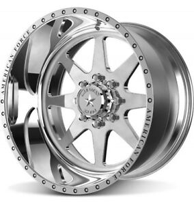 4 New American Force Independence 20x10 Offroad Ford Dodge Chevy