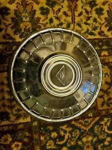 Vintage 1962 63 Chevrolet 9 1 2 Dog Dish Hubcap Corvair Chevy Ii Good Condition