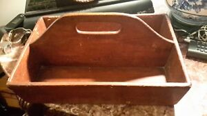 Primitive American Knife Box Early Ct Estate Find