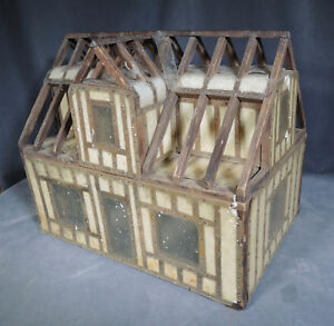 Antique Salesman Sample Framed House Construction Demonstration Model
