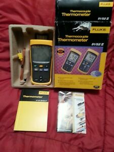 Brand New Still In Box Fluke 51 52 Ii 51 52 2 Thermocouple Thermometer