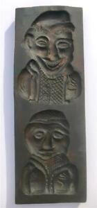 Antique Folk Art Primitive Cookie Mold Or Board Dutch Speculaas Springerle