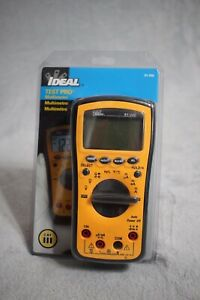 New Ideal Test Pro Multimeter 61 340 Cat Iii