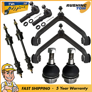 8pc Front Upper Control Arm Tie Rod Sway Bar For 2002 2005 Dodge Ram 1500 2wd