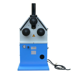 Electric Round Square Band Hydraulic Roll Pipe Tube Bender Machine 9rpm 3hp 220v