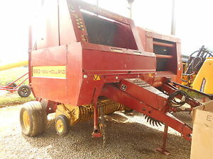 New Holland 660 Round Baler 1992 Model Twine Only Twine